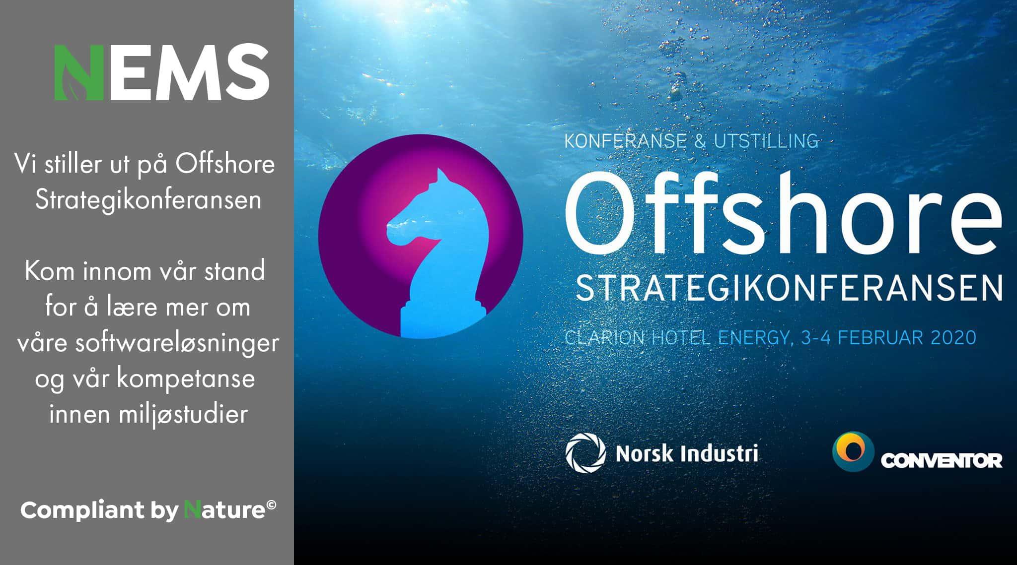NEMS er utstiller på Offshore Strategikonferansen 3.-4. februar 2020