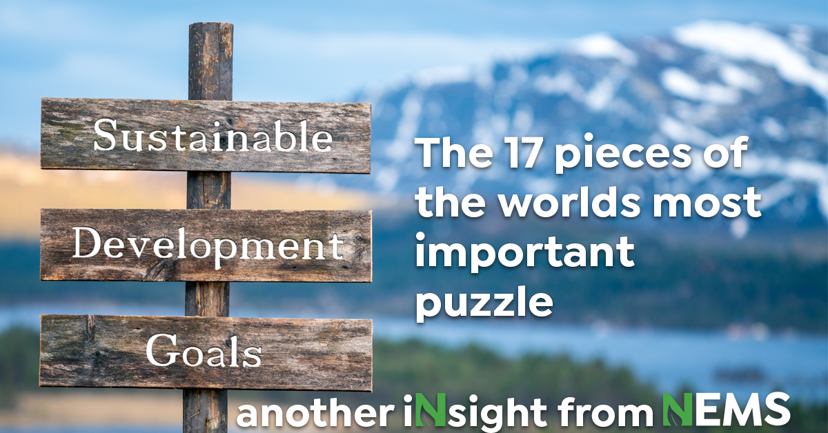 The UN Sustainable Development Goals – the 17 pieces of the world's most important puzzle
