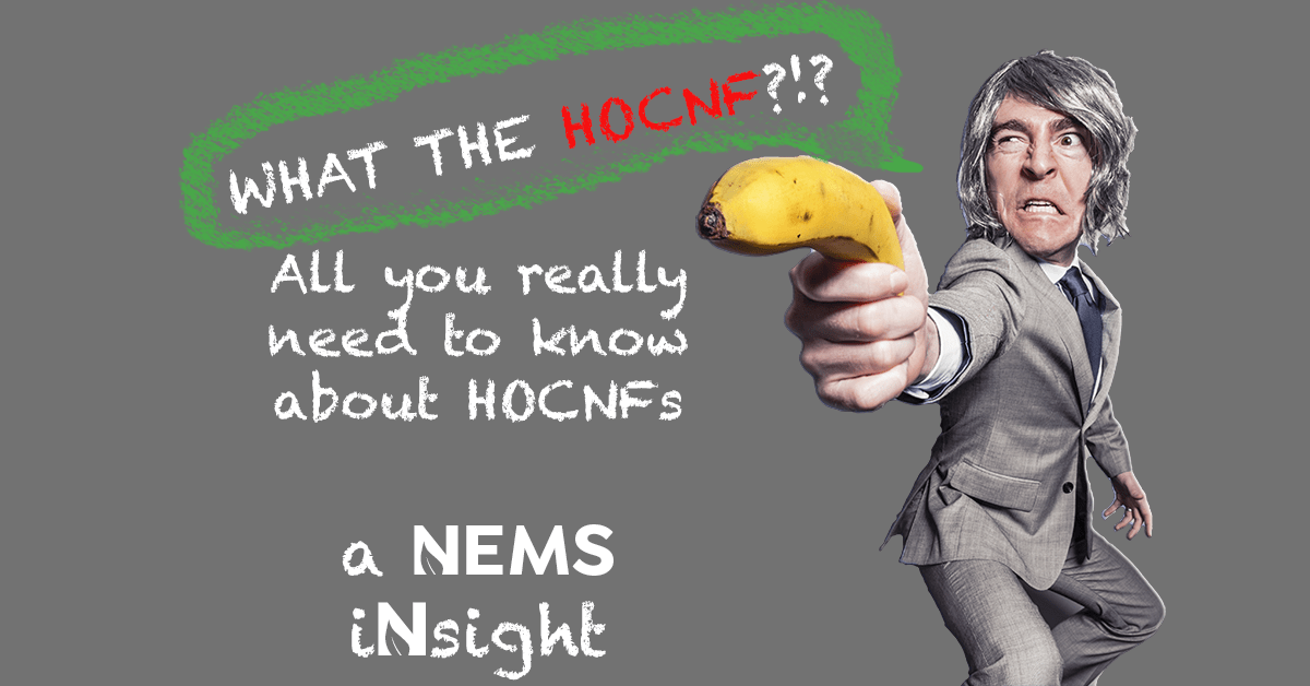 What the HOCNF?!? Facts about HOCNF