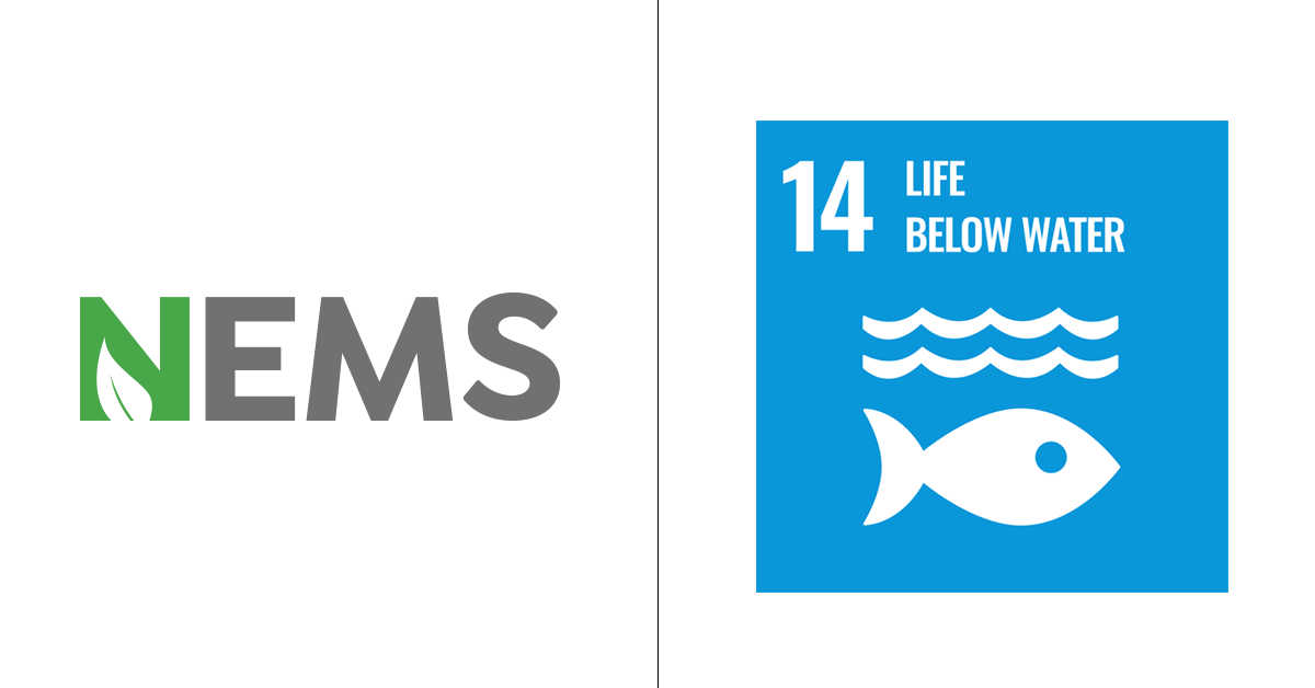 Sustainable development Goal 14 Life below water - NEMS efforts